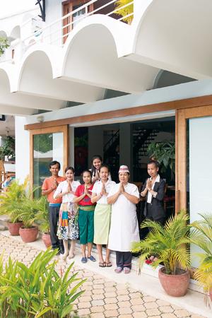 iRoHa Garden Hotel & Resort を支えるスタッフのみなさん。