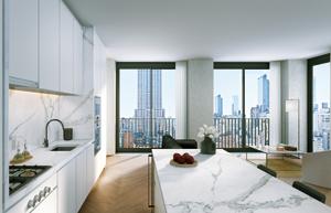 眺望の素晴らしさを満喫できる部屋