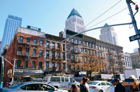 マンハッタンの街中