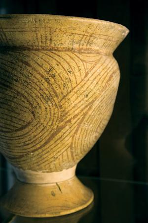 バンチエン遺跡から出土された土器